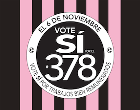 Vote Si Por Miami Freedom Park Logo